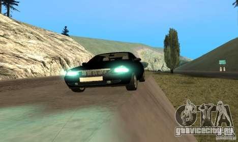 Лада Приора хэтчбэк для GTA San Andreas вид сзади