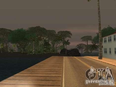 Тайна тропического острова для GTA San Andreas четвёртый скриншот