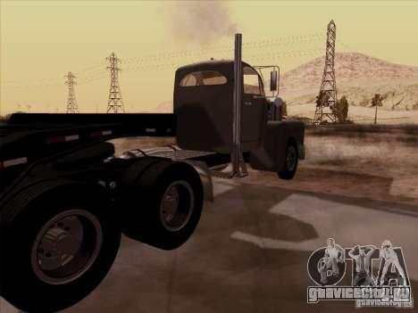 Mack B 61 для GTA San Andreas вид сзади слева