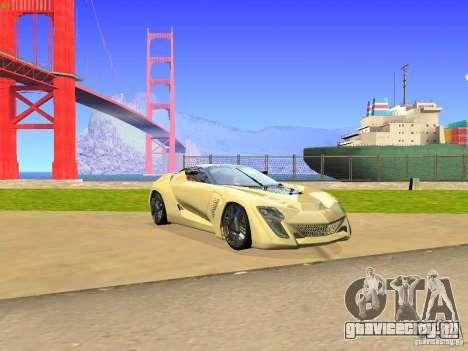 Bertone Mantide для GTA San Andreas вид слева