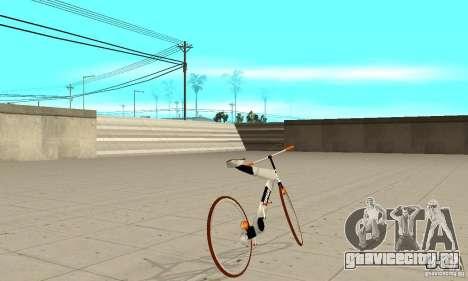 Nulla 2009 Mt Bike для GTA San Andreas вид сзади слева