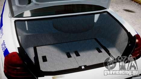 Ford Crown Victoria NYPD для GTA 4 вид сбоку