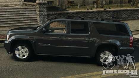 Chevrolet Suburban GMT900 2008 v1.0 для GTA 4 вид слева