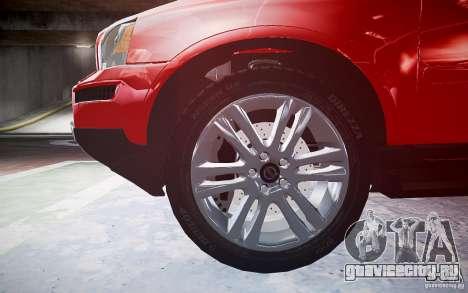 Volvo XC 90 для GTA 4 вид сбоку