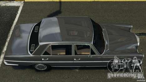 Mercedes-Benz 300Sel 1971 v1.0 для GTA 4 вид справа