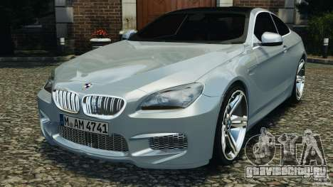 BMW M6 Coupe F12 2013 v1.0 для GTA 4