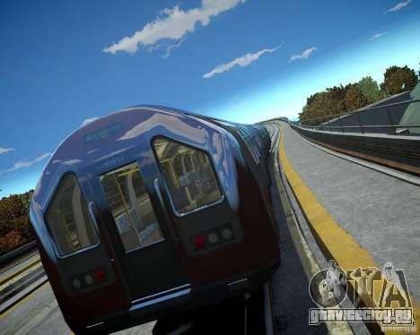 Лондонский Поезд для GTA 4 третий скриншот