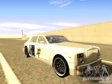Rolls-Royce Phantom V16 для GTA San Andreas двигатель
