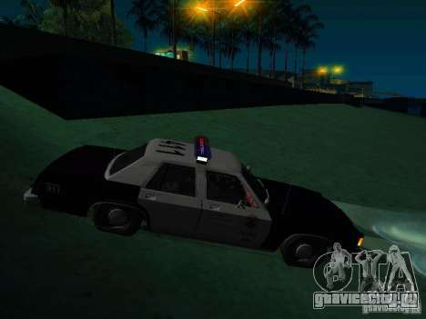Ford Crown Victoria LTD 1992 SFPD для GTA San Andreas вид справа
