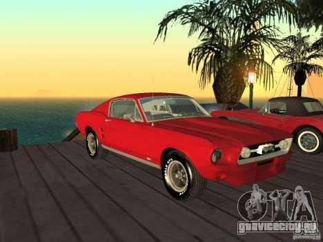 Ford Mustang 67 Custom для GTA San Andreas