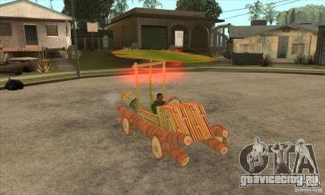 New Police Madagascar для GTA San Andreas вид сзади
