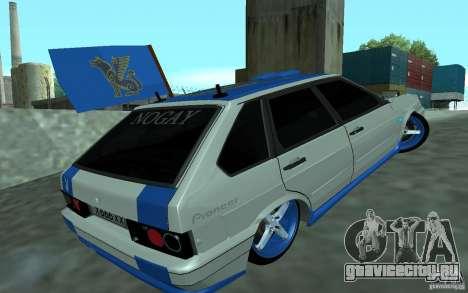 Ваз 2114 Nogay Tun для GTA San Andreas вид слева