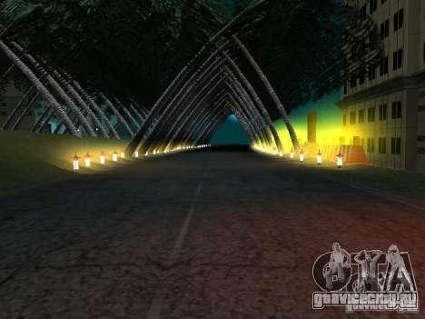 New СITY v1 для GTA San Andreas