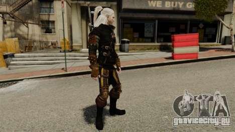 Геральт из Ривии v3 для GTA 4 второй скриншот