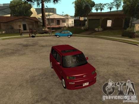 Toyota BB для GTA San Andreas вид справа