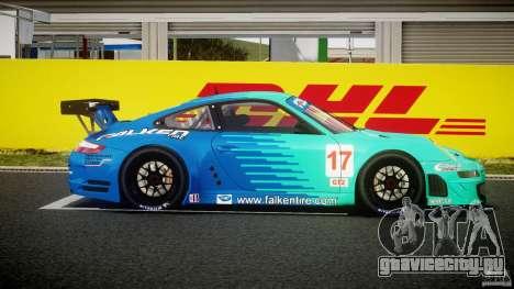 Porsche GT3 RSR 2008 для GTA 4 вид изнутри