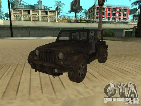 Jeep Wrangler SE для GTA San Andreas