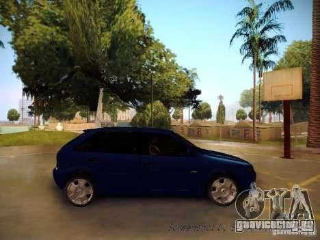 Volkswagen Golf V2.0 Final для GTA San Andreas вид сзади слева