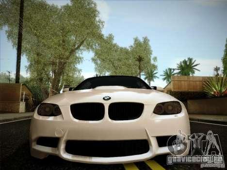 BMW E92 v2 Updated для GTA San Andreas вид сзади