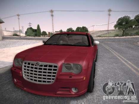 Chrysler 300C SRT8 для GTA San Andreas вид сзади слева