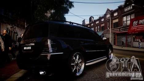 Mercedes-Benz GL450 Brabus Black Edition для GTA 4 вид справа