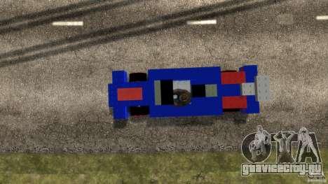LEGOCAR для GTA 4 вид справа