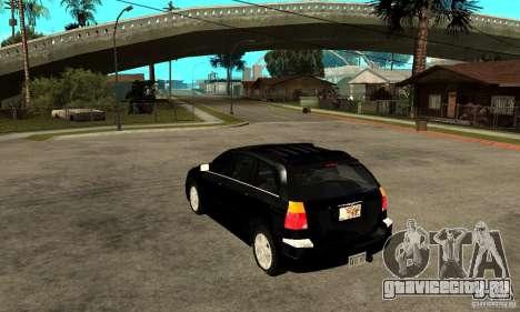 Chrysler Pacifica для GTA San Andreas вид сзади слева