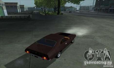 Ford Falcon GT Pursuit Special V8 Interceptor для GTA San Andreas вид слева
