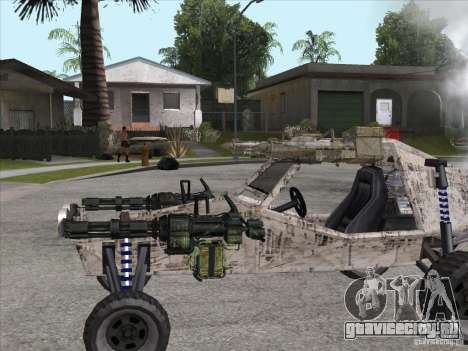 Turbo car v.2.0 для GTA San Andreas вид справа