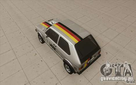 Volkswagen Golf Mk1 - Stock для GTA San Andreas колёса