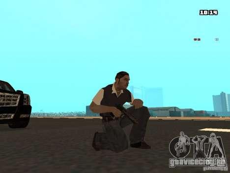 No Chrome Gun для GTA San Andreas второй скриншот