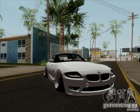 BMW Z4 Hellaflush для GTA San Andreas вид слева