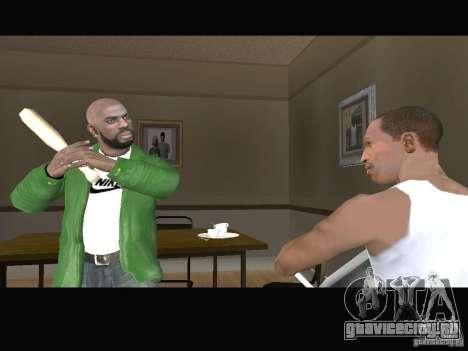 New Sweet, Smoke and Ryder v1.0 для GTA San Andreas шестой скриншот
