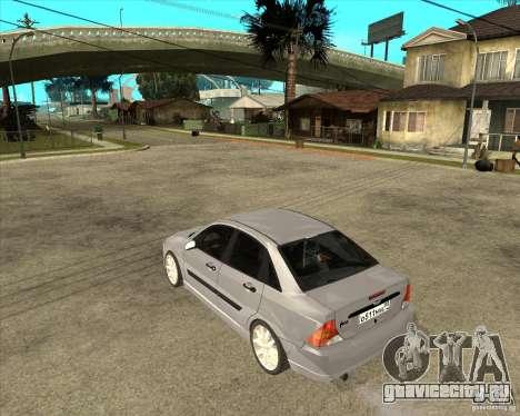 Ford Focus Sedan для GTA San Andreas вид слева