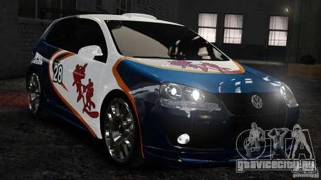 Volkswagen Golf V GTI Blacklist 15 Sonny v1.0 для GTA 4
