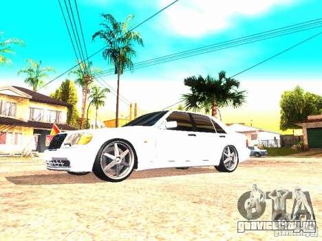 Mercedes-Benz S600 AMG для GTA San Andreas вид слева