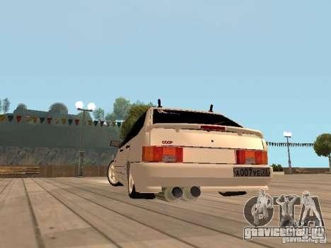 ВАЗ 2114 ЗВЕРЬ для GTA San Andreas вид справа