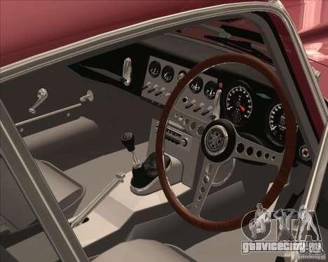Jaguar E-Type Coupe для GTA San Andreas вид сзади