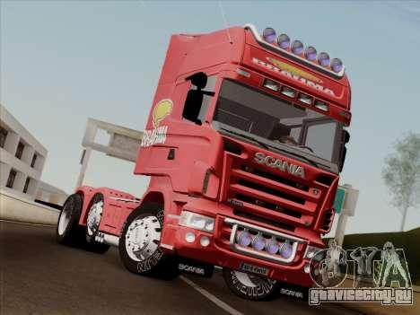 Scania R620 Brahma для GTA San Andreas вид сзади