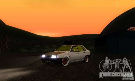 ВАЗ 21099 Rat Look для GTA San Andreas