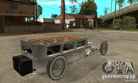 HotRod sedan 1920s для GTA San Andreas вид справа