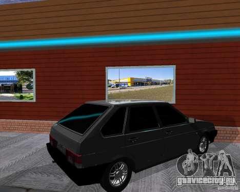 ВАЗ 2109 Спутник для GTA San Andreas вид справа