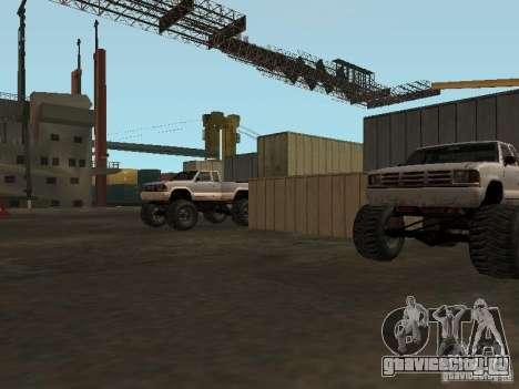 Huge MonsterTruck Track для GTA San Andreas седьмой скриншот