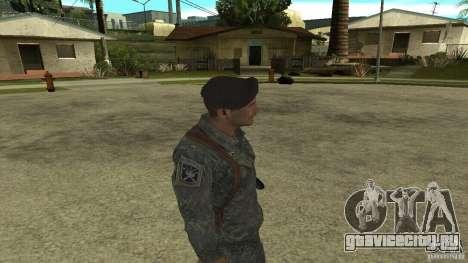 Shepard из CoD MW2 для GTA San Andreas четвёртый скриншот