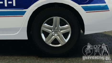 Chevrolet Impala 2012 LCPD для GTA 4 вид сзади