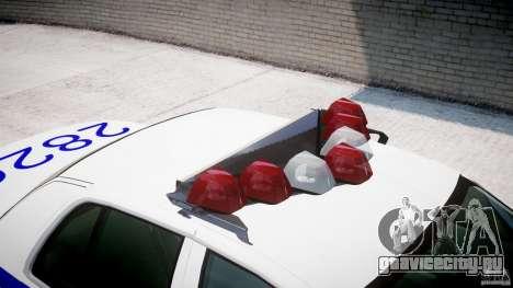 Ford Crown Victoria NYPD для GTA 4 вид снизу