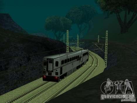 Высокоскоростная ЖД линия для GTA San Andreas пятый скриншот