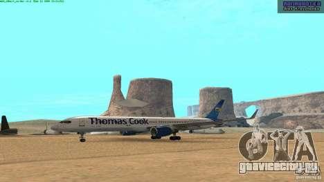 Boeing 757-200 Final Version для GTA San Andreas