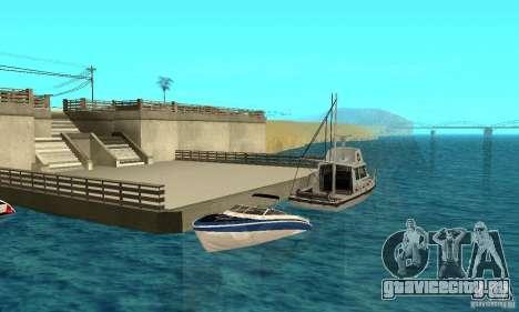 GTAIV Tropic для GTA San Andreas салон