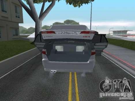 Mitsubishi Legnum для GTA San Andreas вид сзади